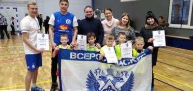 «Новогодний турнир по детскому футболу» на призы «Динамо-Вологда».