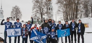 Кубок по Снежному Регби на Рождество в Вологде.